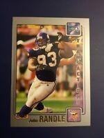 2001 Topps #96 JOHN RANDLE Seattle Seahawks DE Great Card !  LOOK !
