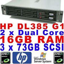 HP AMD Server mit 16GB (RAM) Speicherkapazität Firmennetzwerke