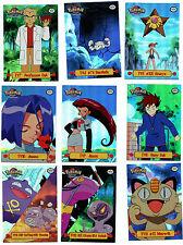 Pokemon Topps TV Animation  TV5-TV13 Holofoil 9 card set New