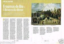 Coupure de Presse Clipping 2014 (2 pages) Erasmus de Bie