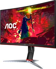 """AOC C27G2 27"""" Curved Gaming Monitor FHD, 1500R Curved VA,1ms, 165Hz (Renewed)"""