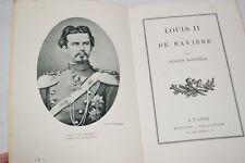 LOUIS II DE BAVIERE-BAINVILLE 1927 ILLUSTRE
