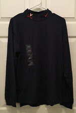 NWT Virginia UVA Cavaliers Football Team Issued Nike Mock Turtleneck Shirt Small
