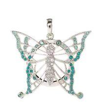 NEW Origami Owl Aqua Ombre Butterfly Filigree Locket , exclusive and limitedNib