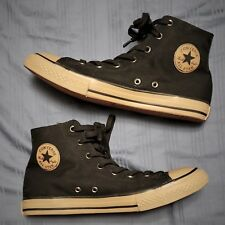 7c9d4c7372799e CONVERSE ALL STAR FRESH Junior Youth Size 6 Black   Brown High Top Shoes