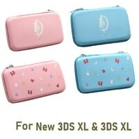 Kawaii Pink Carrying Case Pouch for Nintendo New 3DS XL & 3DS XL Double Sides