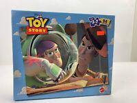 Vintage Disneys Toy Story 24 Piece Puzzle 1998 Mattel Buzz Woody