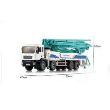 1:55 Scale Diecast Concrete Pump Truck Construction Equipment Model Layout Toys