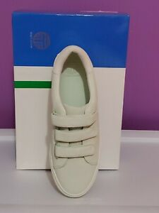 New Tory Burch Sport Triple Strap Suede Sneaker sz 8M green women shoes athletic