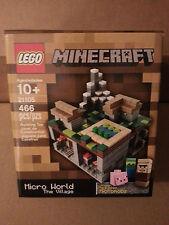 LEGO CUUSOO MINECRAFT - The Village 21105 VHTF Brand New Sealed Set Micro World