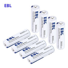 8 PACKS 3000mAh AA Lithium Leakproof Batteries Non-Rechargeable Long Last