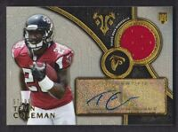 2015 Topps Triple Threads Rookie Auto Relics #TCO Tevin Coleman Jersey 97/99