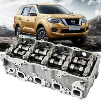 Complete Cylinder Head fits Nissan fitted cams D22, ZD30 3.0L DTI 16V 1999-2010