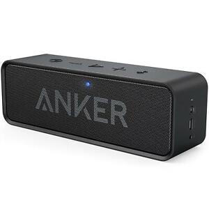 Anker SoundCore 2 Bluetooth Lautsprecher Fantastischer Sound Bass IPX7 Schwarz