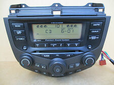 Honda Accord 2PK0 Stereo CD Player 6 Disc Changer Premium Sound System 2003-07