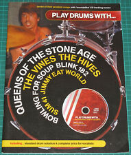 Play Drums With QOTSA The Vines Hives Bowling For Soup Blink 182 Jimmy Eat World
