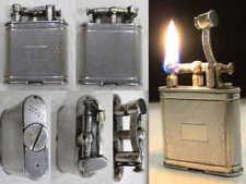 BRIQUET Ancien * DUNHILL Unique * Fuel LIGHTER Feuerzeug Accendino