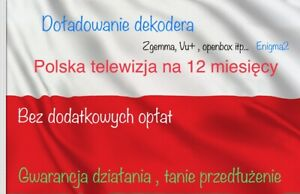 Polska Telewizja 12 Miesięcy Doładowanie Cp Nc+