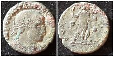 Roman Constentine I bronze coin approx 18 mm, 1 mm thick 2.7 grams {lot Ax}