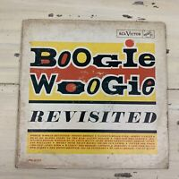 BOOGIE WOOGIE REVISITED - Vtg 1961 Jazz Music Record