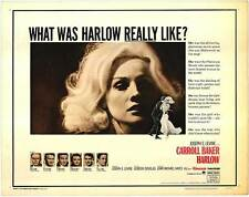 Harlow 16mm Feature IB Technicolor Print Starring Carroll Baker CinemaScope