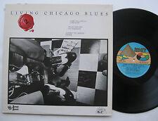 LP Living Chicago Blues 2 - VG++ Carey Bell Magic Slim John Big Moose Walker