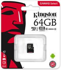 Kingston Tarjeta Memoria 64GB Micro SD C10 (No Envíos a Canarias,Baleares,Ceuta)