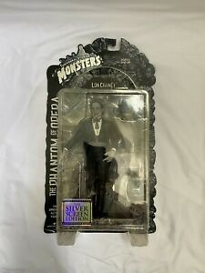Universal Monsters 8 inch Phantom of the Opera Figure Silver Screen Edition