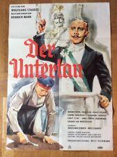 Untertan (Kinoplakat '51) - Werner Peters / Paul Esser / Wolfgang Staudte