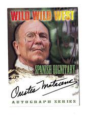 AUTO Wild Wild West movie - A10 Orestes Matacena autograph