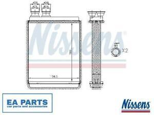 Heat Exchanger, interior heating for CITROËN DS RENAULT NISSENS 72986