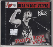 The Kings - Party Live In '85 - Brand New - MINT - Sealed - This Beat Goes On