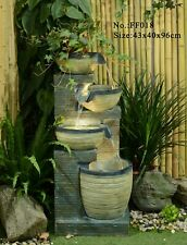 GIRALDA WATER FEATURE AMAZING WATER DROP OUTDOOR FOUNTAIN NEW FAST DELIVERY