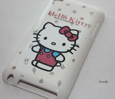 iPod Touch 4th Gen 4G - SOFT RUBBER GEL GUMMY CASE COVER SANRIO HELLO KITTY PINK