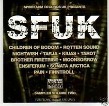 Various - SFUK: Spinefarm Records Sampler Volume Two Promo Album (CD) Tarja
