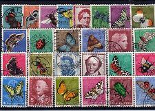 Lot Schweiz o- Pro Juventute aus  1950 - 1957  ( 12539-o1 )