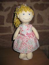 Puppenkleidung, Kleid, Stoff Puppe 30cm, neu, (ohne Haba Puppe), 1551