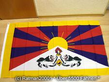 Fahnen Flagge Tibet NEU - 90 x 150 cm