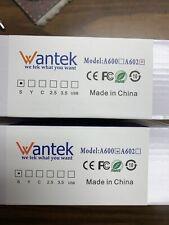 Wantek Call Center Headset Model A600 and Model A602 (1 each) Rj09 Connector