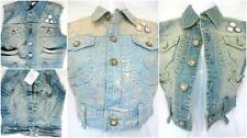 Button Patternless Gilet Casual Coats & Jackets for Women