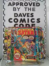 SON OF SATAN COMPLETE SET #1-8 (DEC 1975 STARLIN/KANE/RUSSELL/MOONEY)