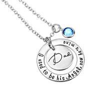 I used to be his/her angel,now he's/she's mine Dad/Mom Memorial Pendant Necklace