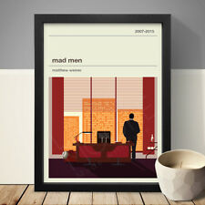 MAD MEN Alternative Minimal Television Poster