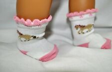 "18"" Doll Clothes Pony Socks Fits American Girl Dolls Our Generation Doll"