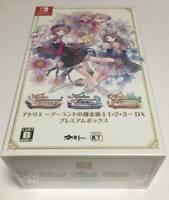 Atelier Arland Series 1,2,3-DX Geo Original Design Pack Nintendo Switch JP