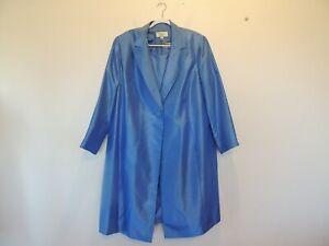 Le Suit size 22 W blue dress & coat suit wore once beautiful Spring