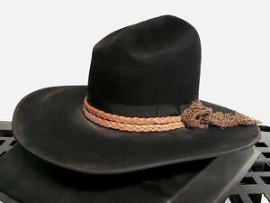 STETSON JOHN WAYNE COGBURN 10X FUR FELT COWBOY HAT
