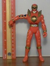 Power Rangers Dino Thunder Red Triassic Ranger w/ Chest Cover Figure !!!