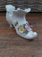 Vintage Lefton China Decorative Shoe
