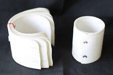 5 paires de faux poignets de chemises blanc à 4 boutons Début XX Idéal Théâtre